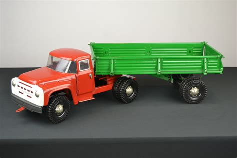 Metal Toy Pickup Trucks And Trailers