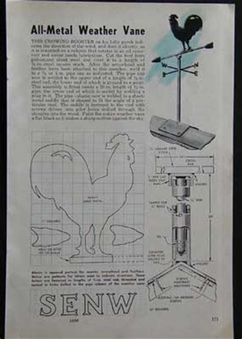 Metal Weathervane Plans Free