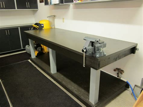 Metal Workshop Bench Plans