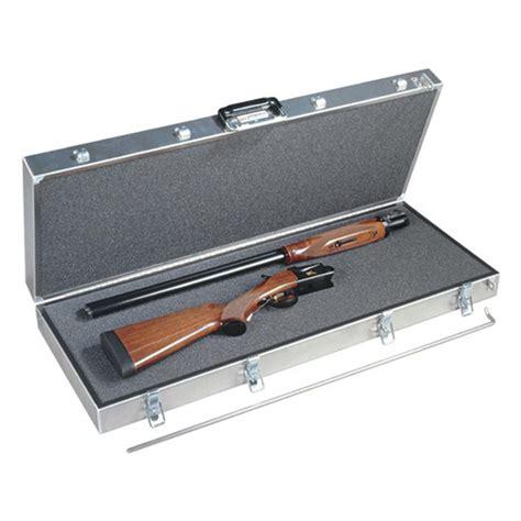 Metal Gun Case And Muzzleloader Revolver
