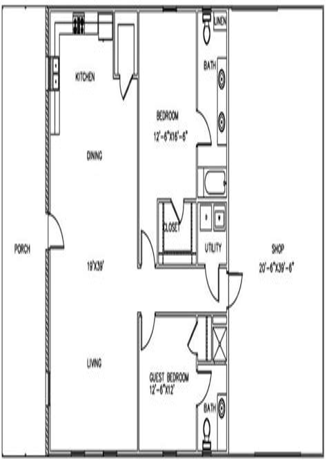 Metal-Barn-Living-Quarters-Floor-Plans