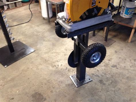 Metal-Chop-Saw-Stand-Plans