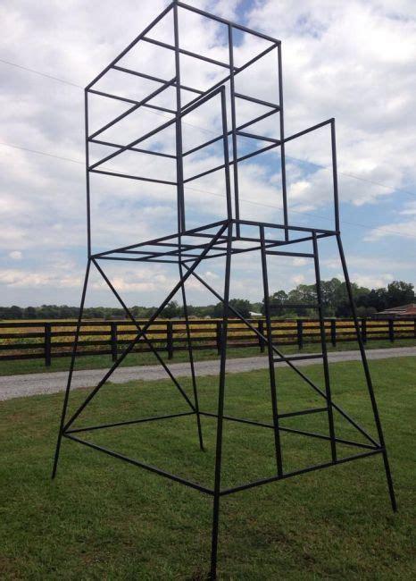 Metal-Frame-Deer-Stand-Plans