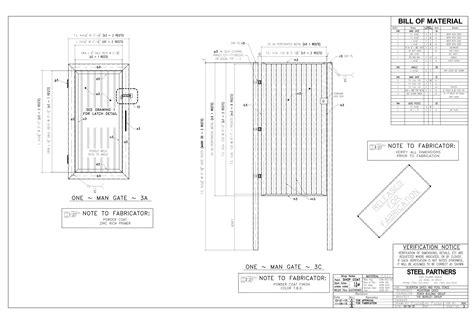 Metal-Gate-Plans