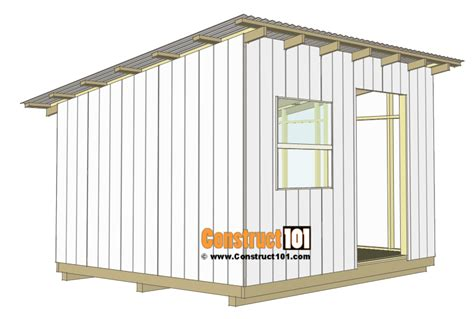 Metal-Lean-To-Shed-Plans