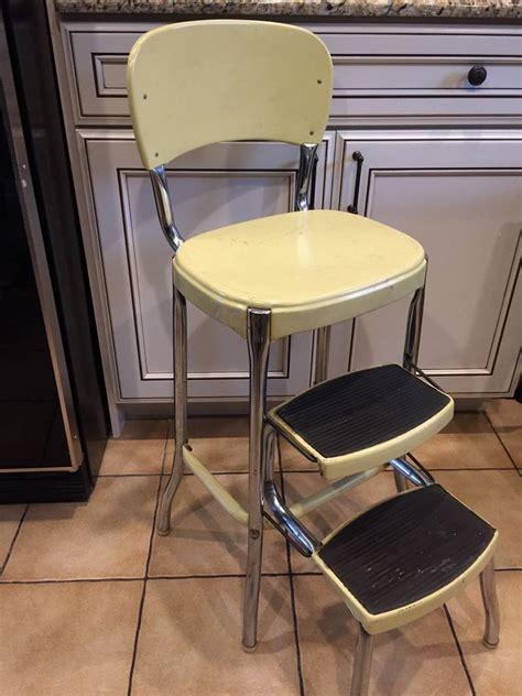 Metal-Step-Stool-Chair