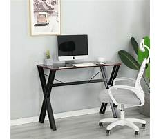 Best Metal and glass office desk