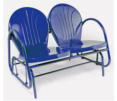 Best Metal porch glider chairs