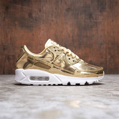 Metallic Gold Sneakers Nike
