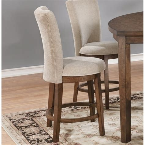 Meyersdale Counter Height Upholstered Dining Chair (Set Of 2)