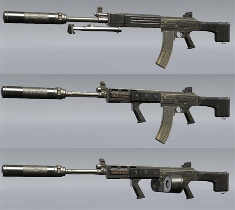 Mgs5 Assault Rifles And New Double Barreled Assault Rifle