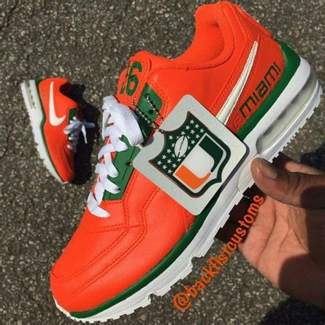 Miami Hurricanes Nike Sneakers