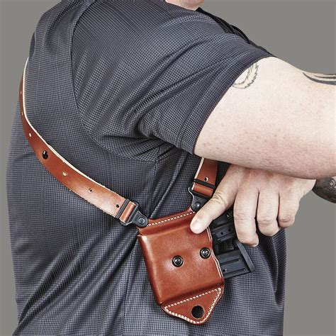 Miami Classic Ii Shoulder System Galco Gunleather And Nightforce Clamp On Power Throw Lever For Non Enhanced