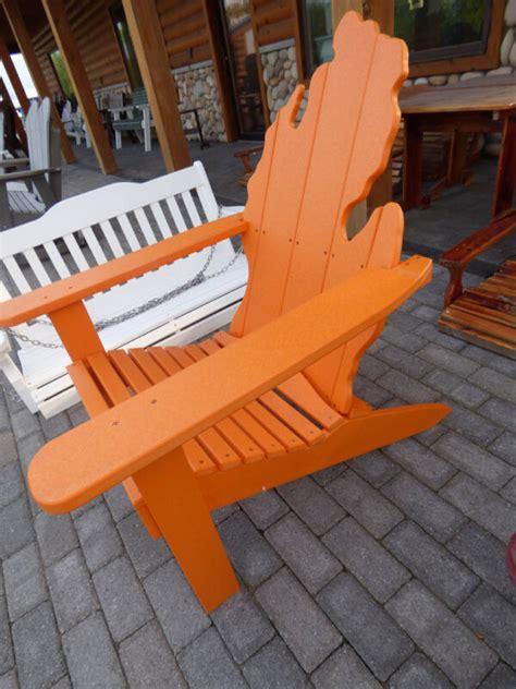 Michigan-Mitten-Adirondack-Chairs