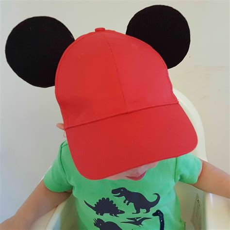 Mickey Ears Hat Diy Kids