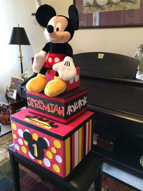 Mickey Mouse Box Diy Ideas