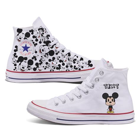 Mickey Mouse Converse Sneakers