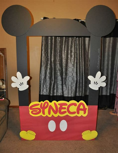Mickey Mouse Picture Frame Diy Pinterest