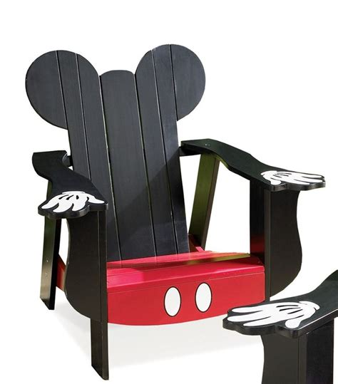 Mickey-Mouse-Adirondack-Chair