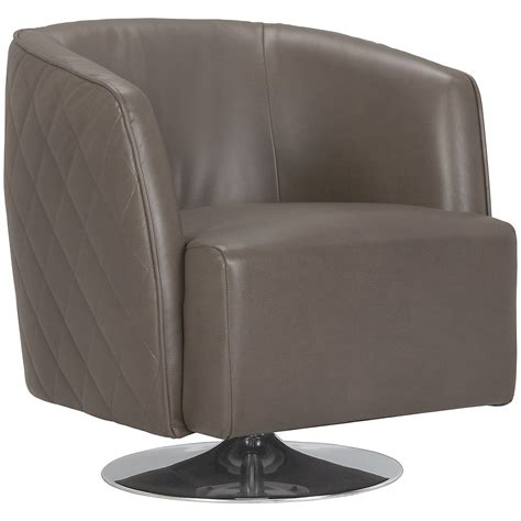 Microfiber Swivel Accent Chair