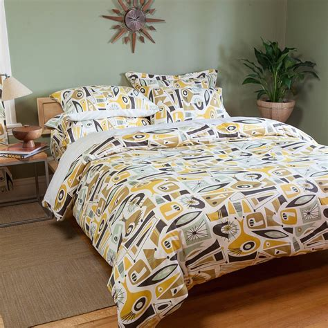 Mid Century Modern Bedding Sets