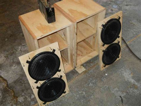 Mid Range Speaker Box Plans