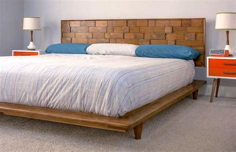 Mid-Century-Modern-Bed-Frame-Diy