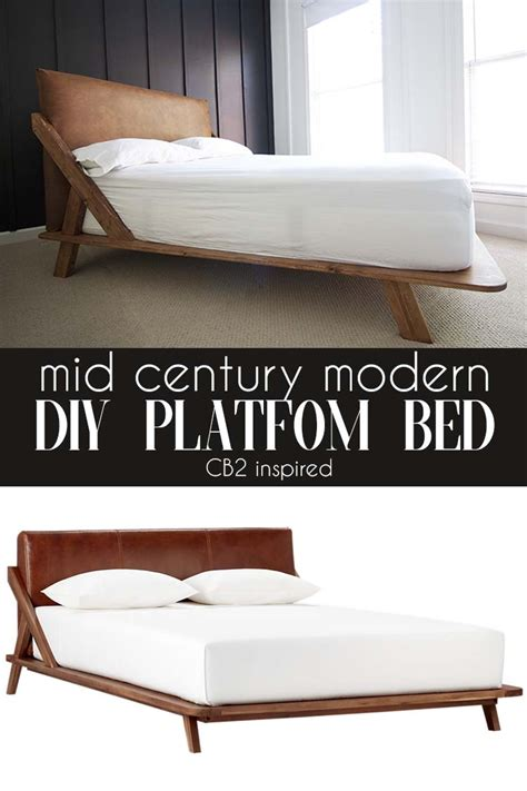Mid-Century-Modern-Platform-Bed-Diy