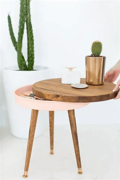 Mid-Century-Side-Table-Diy