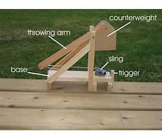 Best Middle school trebuchet catapult plans