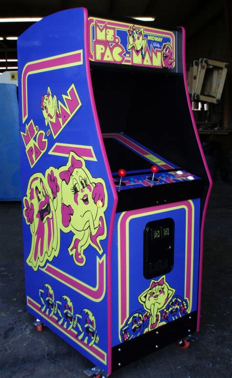 Midway Arcade Cabinet Plans