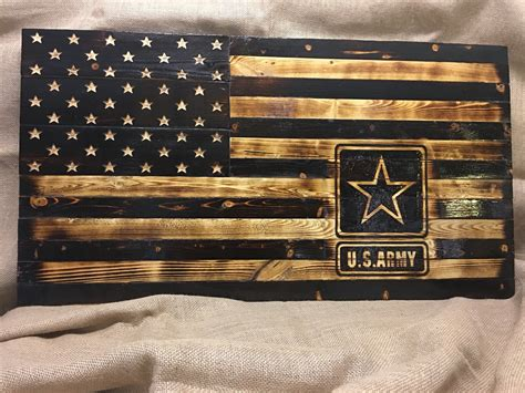 Milatary Wooden American Flag Plans