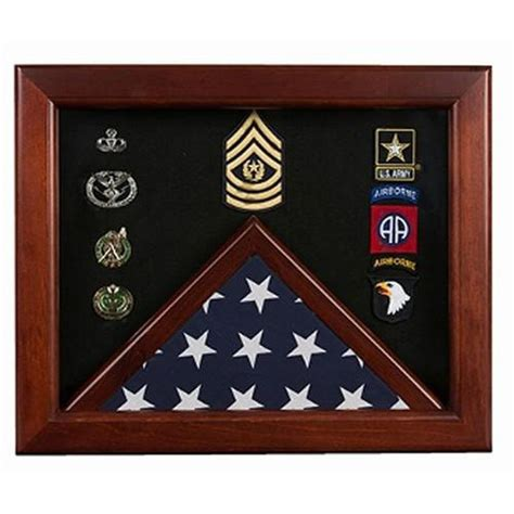 Military Flag And Medal Display Case Plans