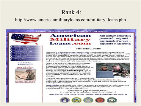 Military Loans No Credit Check