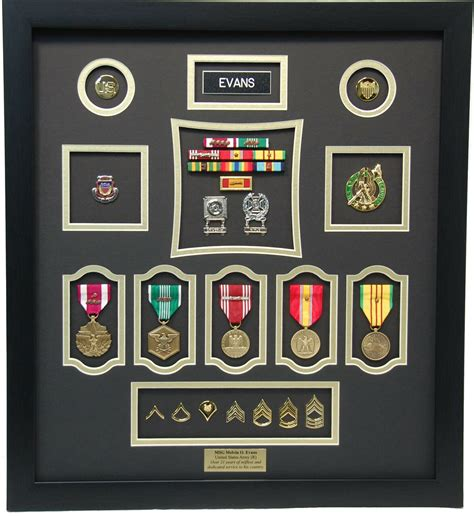 Military Medals Shadow Box Plans