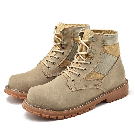 Military Tactical Boots Army Combat Jungle Boots Lace Up Desert Martin Boots for Women and Men