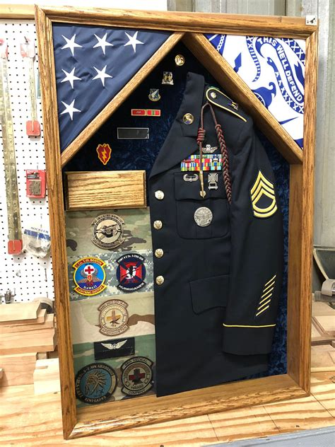 Military Uniform Shadow Box Plans
