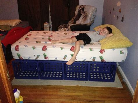 Milk Crate Bed Diy Gone