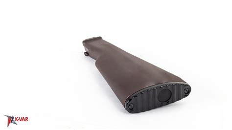 Milled Ak47 Plum Buttstock And One Piece Ar15 Buttstock