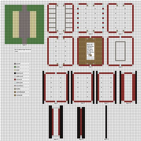 Minecraft Barn Floor Plans