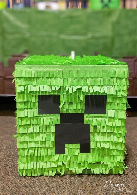 Minecraft Diy Pinata
