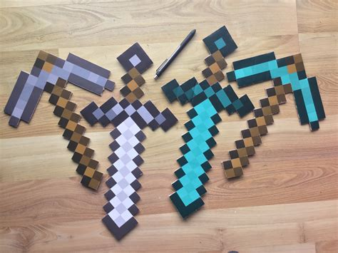 Minecraft Diy Printables