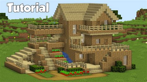 Minecraft How To Build A House In Minecraft