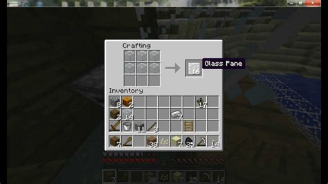 Minecraft How To Make Window Panes
