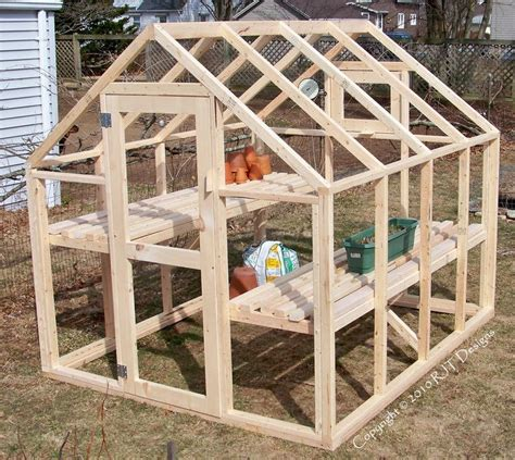 Mini 8 X 8 Greenhouse Plans