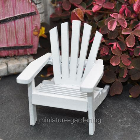 Mini Adirondack Chair Plans
