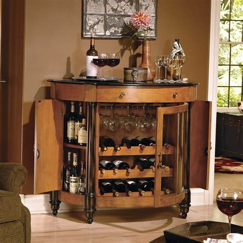 Mini Bar Cabinet Ideas