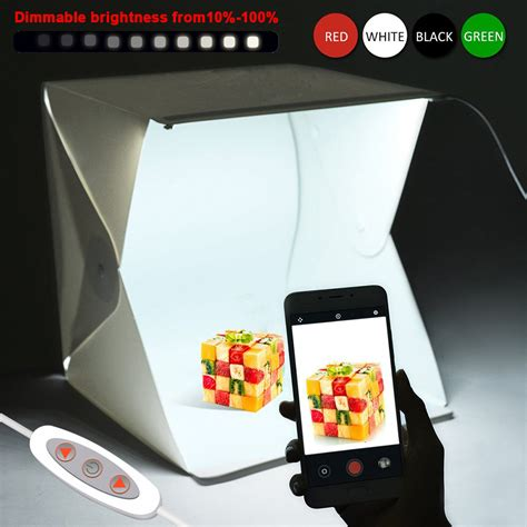 Mini Led Studio Photo Box Diy