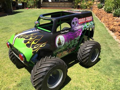 Mini Monster Truck Chassis Plans Sold