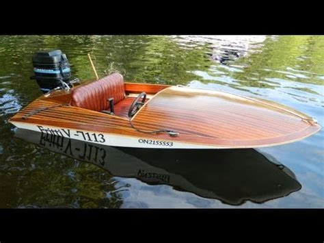 Mini Most Xl Boat Plans